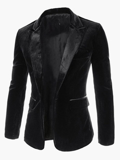 Stylish Cotton Fibers Men's Jacket
