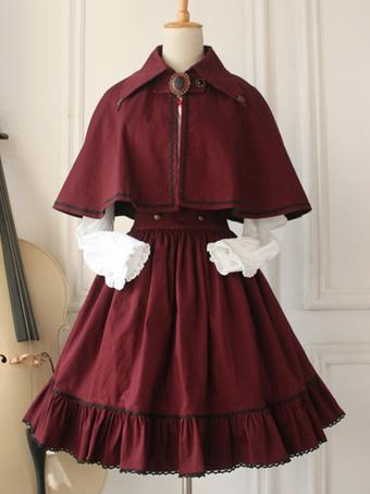 bb30ce27c4a Gothic Lolita Dress Cross Regression Victorian Vintage SK Lolita Skirt