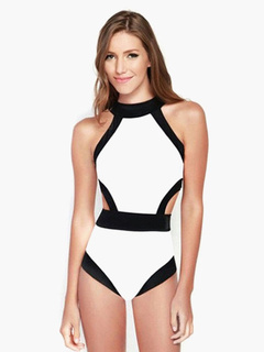 Monokini Swimsuits With Open Back