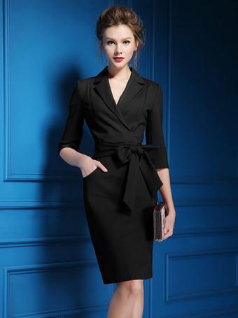 Polyester Bodycon Dress for Women