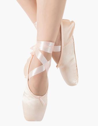 Zapatillas de ballet de tela vaquera con flor P8MtNGgraC