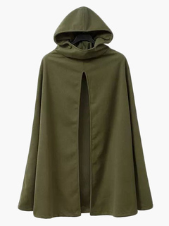 Women Coat Cape Hoodie Jacket Poncho Coat