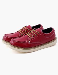 50a4488fbc1e0f Nero Scarpe piatte con lacci scarpe Casual maschile punta tonda. Anteprima  Lista dei desideri