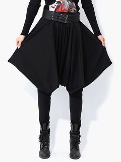 Elastic Waist Oversized Harem Pants