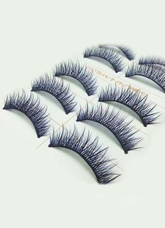 1-Color Synthetic False Eyelashes for Women