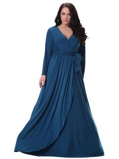 Robe bleu grande taille pas cher