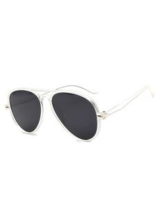Black Trendy PC Frame Glasses for Men