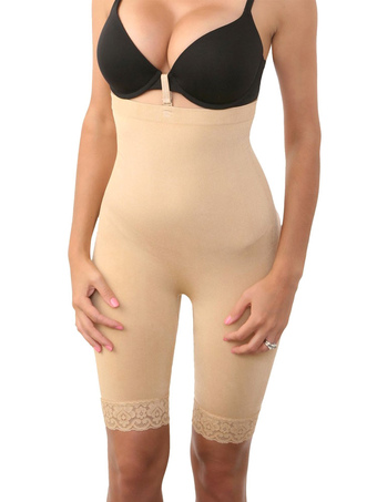 Best Body Shaper Mid High Multicolor Cut Out Spandex Simply Contour Shapewear For Women