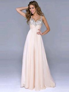 Rosa vestito scollato Lunghi Abiti da Cerimonia paillettes 60653b27008