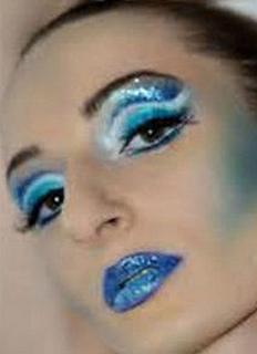 Blue Bling Liquid Eyeliner
