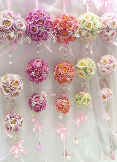 Rose Flower-Ball Wedding Decoration 3 Ball
