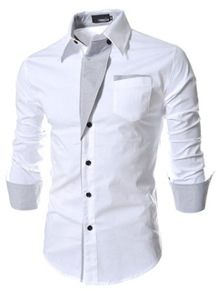 Casual Slim Fit Long Sleeves Shirt For Men