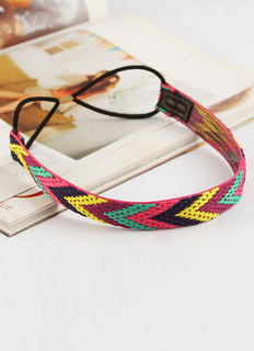 Multicolor Knitted Hair Band
