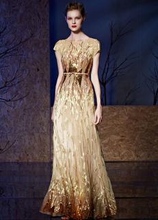 1efa4f7edbaf Paillettes Abito da sera ricami pavimento-lunghezza madre del vestito sposa