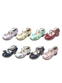 Zapatos de lolita rojos 7KfXz