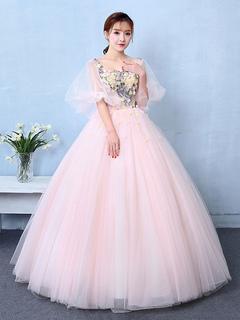 Prinzessinnen kleid mit glitzer