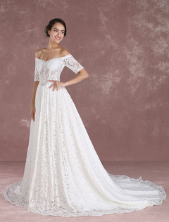 Lace Wedding Dresses&Gowns, Vintage Lace Wedding Gowns 2017 ...