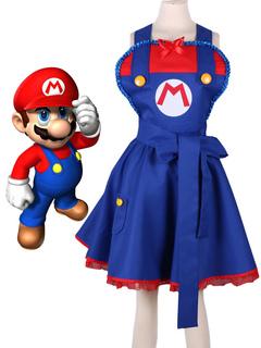3ea807f81 Super Mario Cosplay Costume Kimono Lolita Dress Halloween