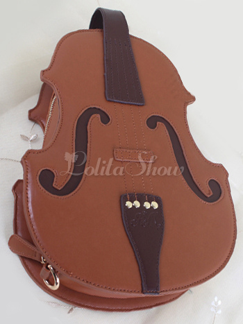 Lolitashow Ragazze Di Pu A Violino Le Forma Per Borsa Lolita PiukZXO