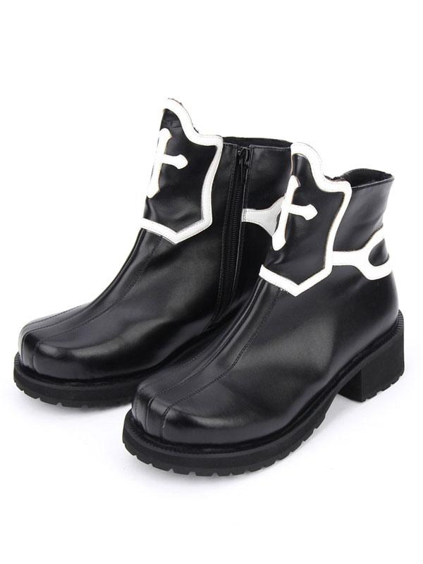 Zapatos de lolita negros de color-blocking  pink-us9 / eu40 / uk7 / cn41  black-us8 / eu39 / uk6 / cn39 ZQ Zapatos de mujer-Tacón Robusto-Plataforma / Punta Redonda-Oxfords-Oficina y Trabajo / Vestido / Casual-Semicuero-Negro / Marrón / Blanco xqwBYgA