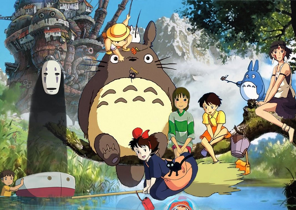 Hayao Miyazaki Anime