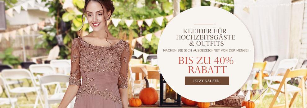 Beste hochwertige Abendkleider für Hochzeit online Shop