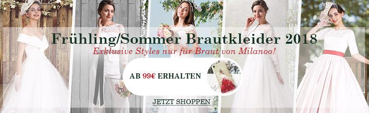 Günstige Brautkleid & Brautkleider unter 100 | Milanoo.com
