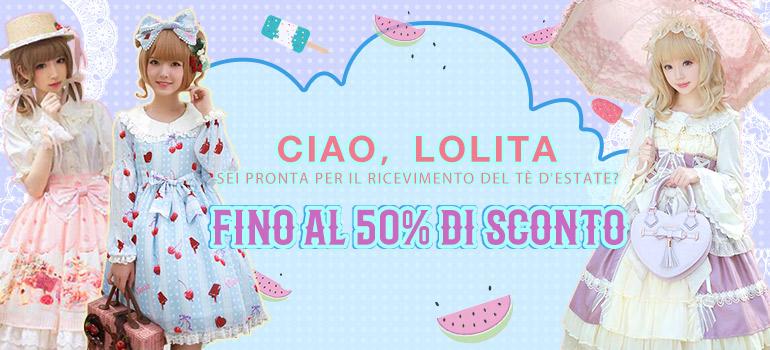 new concept af892 9cb54 Abiti di lolita, Lolita abbigliamento, Lolita vestiti online ...