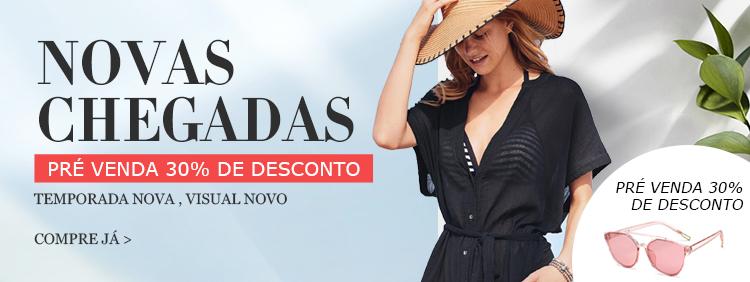 791ede508add3a Comprar Moda Mulher de alta qualidade com preço acessível | Milanoo.com