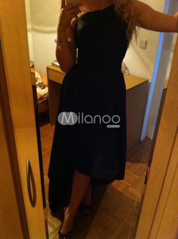 Vorne Kurz Hinten Lang Kleid - Milanoo.com