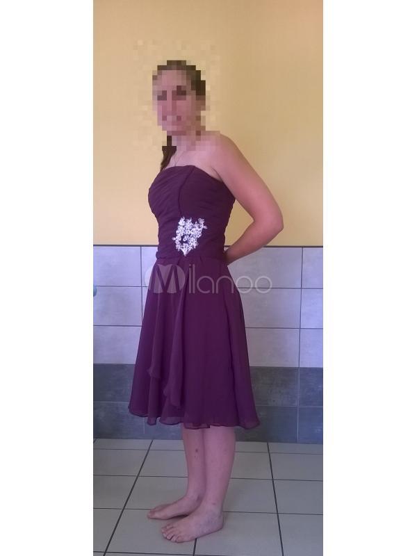robes demoiselle d 39 honneur violette. Black Bedroom Furniture Sets. Home Design Ideas
