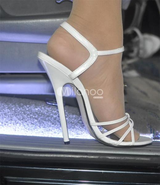 Sexy clear platform heels tacones de cristal sexys - 1 4