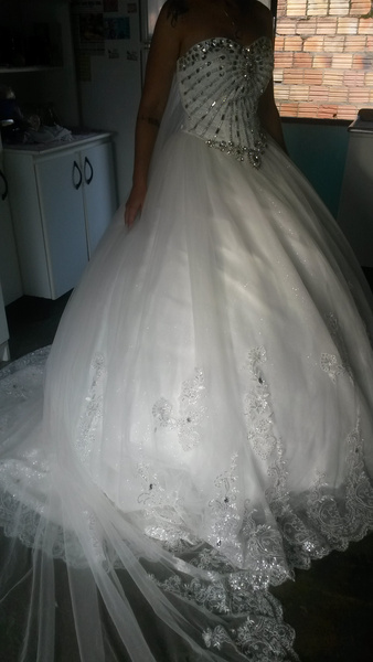 vestidos de novia 2019 apliques de encaje vestido de novia sin