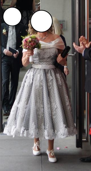 Black Wedding Dresses Vintage Short Bridal Gown Lace Off The Shoulder Polka  Dot Print Bridal Dress With Bow At Back Milanoo