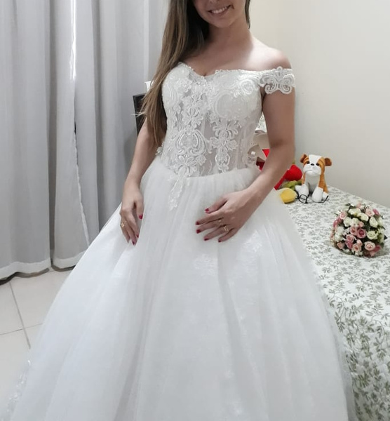 Ball Gown Princess Wedding Dress In Discounts Milanoo